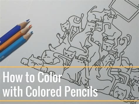 coloring with colored pencils how to color with colored pencils the coloring book club