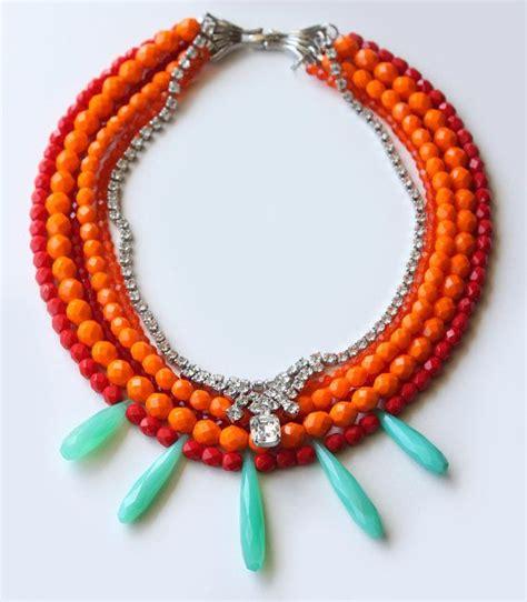 colorful statement necklace colorful statement necklace ltc necklaces