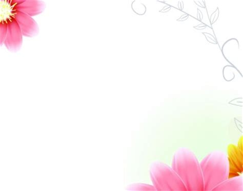 Frame Decorated With Flower Pink Lotus Backgrounds For Flowers Framed Backgrounds Presnetation Ppt Backgrounds