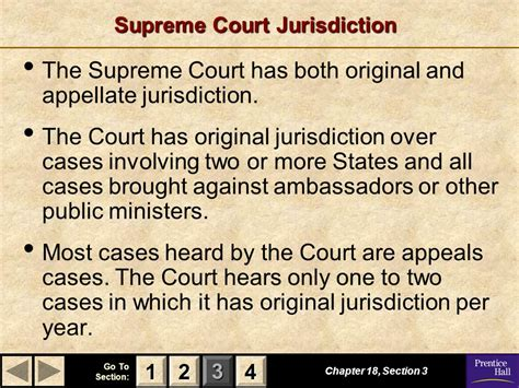 chapter 18 section 3 the supreme court magruder s american government ppt download