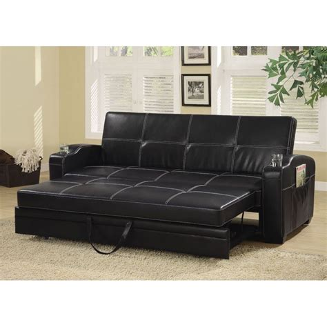 futon office faux leather futon best futons chaise lounges reviews