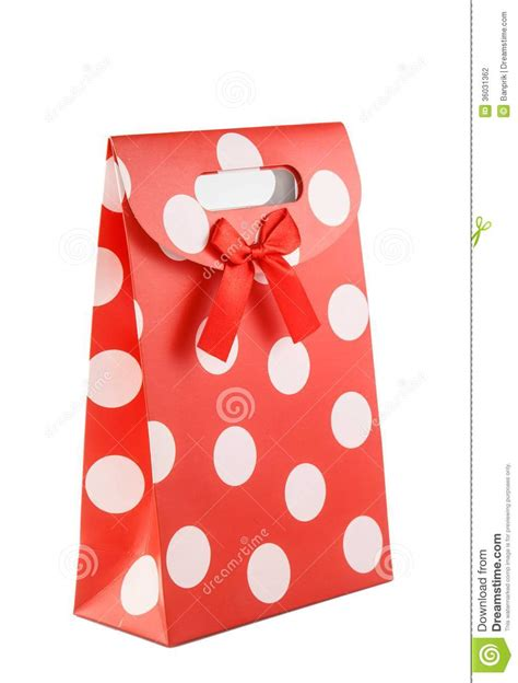 How To Make Beautiful Paper Bags - beautiful paper bag on white stock photo image 36031362