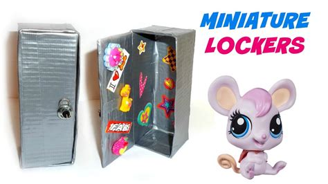 How To Make Lps Stuff Out Of Paper - diy lps lockers diy lps crafts stuff