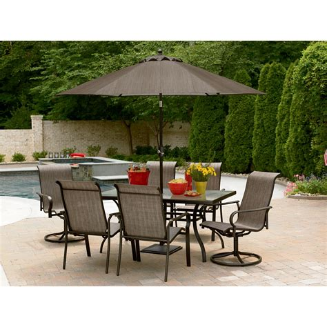 Garden Oasis Patio Furniture by Garden Oasis East Point 7 Pc Dining Set Shop Your Way