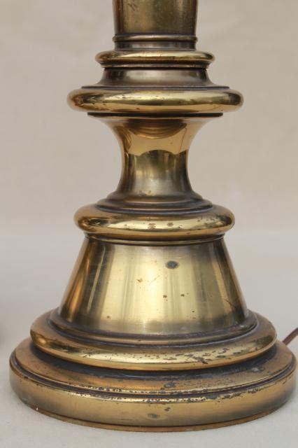 stiffel ls made in china vintage solid brass stiffel ls pair of tall