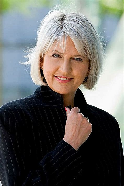 2017 Hairstyles For 50 With Gray Hair by Bob Hairstyle Luxury Grey Hair Bob Hairstyles Grey Bob