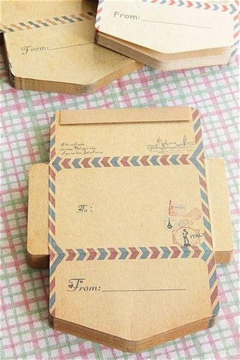 diy envelopes kraft paper envelopes mini envelope embellishment