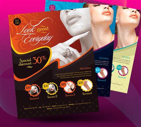 Beauty Salon Business Promotional Flyer by satgur on