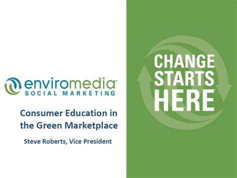 The New Green Consumer Guide by Consumer Education In The Green Marketplace