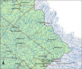 Stations where ground water recharge was estimated in pennsylvania
