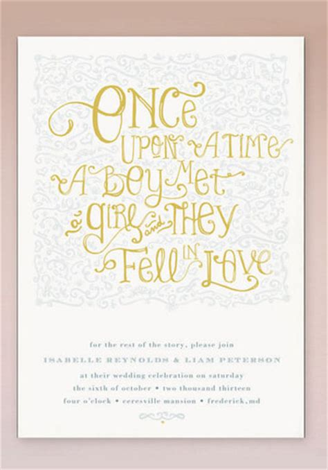 time on wedding invitation once upon wedding invitations green wedding shoes