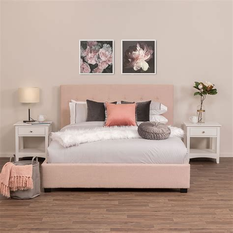 King Bedroom Sets Dallas by Dallas King Bed Blush Target Furniture