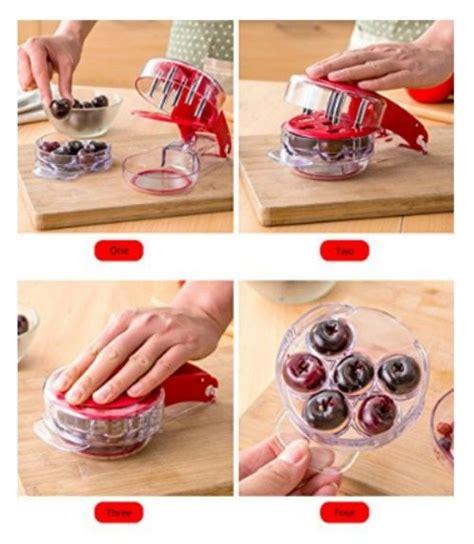 top kitchen hacks and gadgets kitchen hacks your life cherry pitter kitchen helper kitchen hacks kitchen