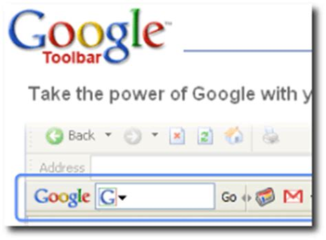 google design toolbar google toolbar for internet explorer
