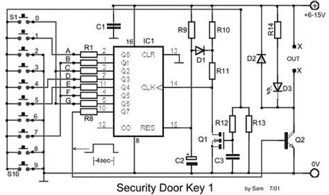 chiave elettronica semplice ed economica elettronica
