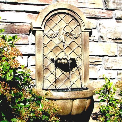 Patio Wall Fountains by Outdoor Wall Fountains Water Fountains Ideas Goodhomez