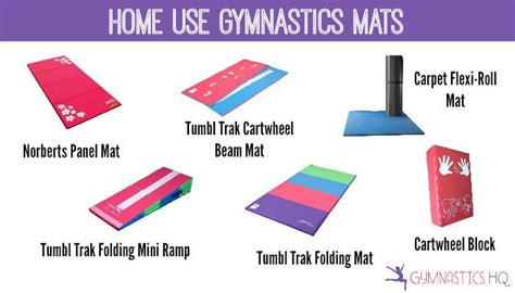 home gymnastics equipment the best beams mats and bars