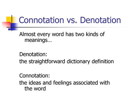 exle of denotation 1000 images about denotation and connotation on it is blind dates and the colour