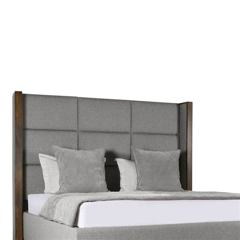 square bed claire square tufted height bed south cone home furniture