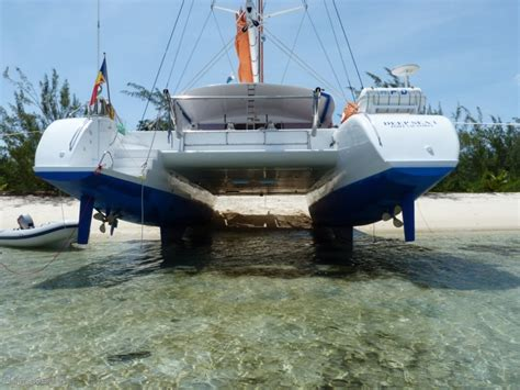 catamaran used used custom sailing catamaran 61 for sale boats for
