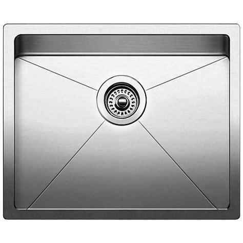 blanco stainless steel sink blanco quatrus r15 undermount stainless steel 22 in 0