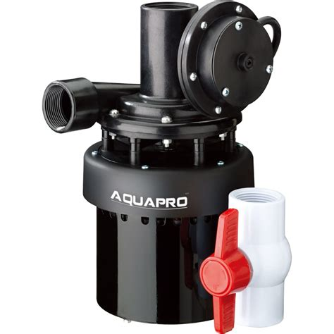 utility sink pump system 55011 7 thermoplastic utility sink pumps aquapro