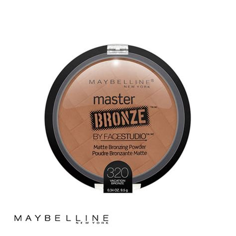 Maybelline Master Bronze maybelline by studio master bronze 320 vacation