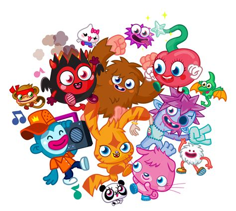 moshi monsters painting brings monsters to the real world