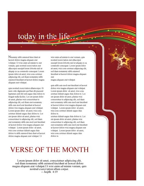 christmas newsletter templates for pages holiday newsletter template newsletter templates