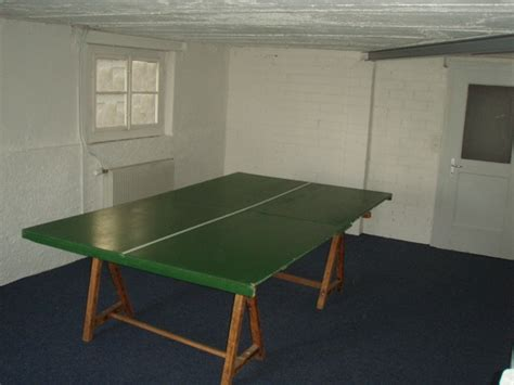 Speisesaal Ping Pong Tisch by Ferienlagerhaus Titterten Des Blauen Kreuzes Bl