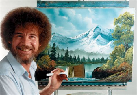 bob ross happy painter bob ross of painting notes on design