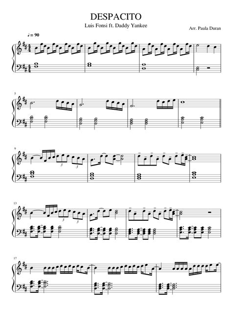 despacito on piano image result for despacito piano sheet easy notes to
