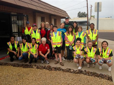 Mba In Peoria For International Students by Sunnyslope High School Students Help With Clean Up