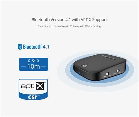 Tronsmart Encore M1 Audio Bluetooth Transmitter Receiver 3 5mm Spdif Tronsmart Encore M1 2 In 1 Audio Transmitter And Receiver