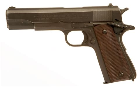 deactivated wwii colt 1911a1 allied deactivated guns
