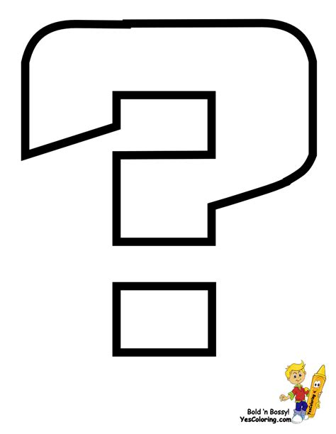 coloring page question mark free coloring pages of question mark