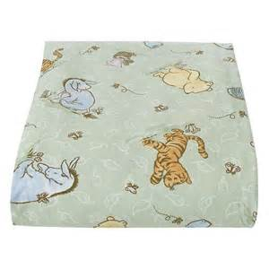 baby stores crown crafts classic pooh crib sheet