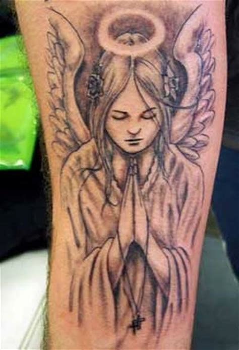angel tattoo ta i want one similar to this but looks more like ganny