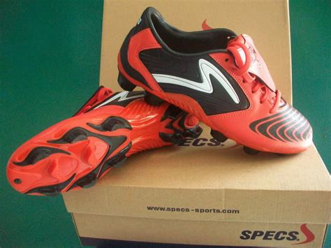 Sepatu Bola Specs specs swervo pro black sepatu bola sepatu futsal