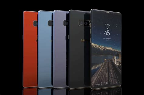 Samsung Note 8 Sc דיווח מערך הצילום הכפול ב galaxy note 8 יאפשר לבצע זום אופטי