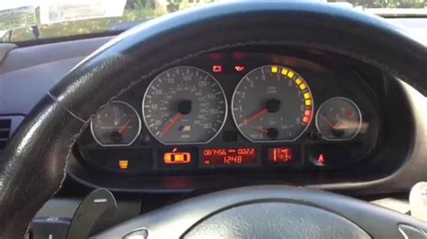 how to fix cars 2011 bmw m3 instrument cluster e46 bmw m3 instrument cluster and smg review youtube