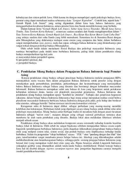 Konsep Masyarakat dan Sosial Budaya Masyarakat Indonesia