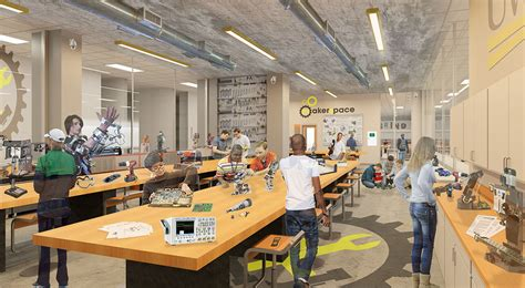 Floor Plan Shop by Uwm Ems Makerspace Community Design Solutions