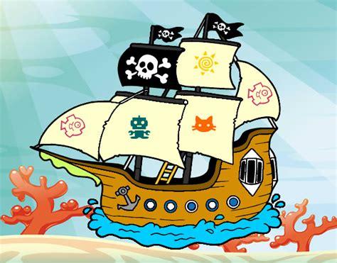 dibujos animados barcos piratas dibujos de barco pirata imagui