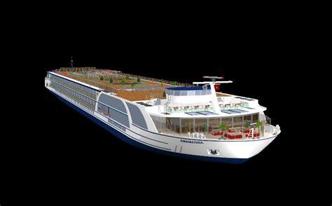 amawaterways unveils plans   ship amamagna travel