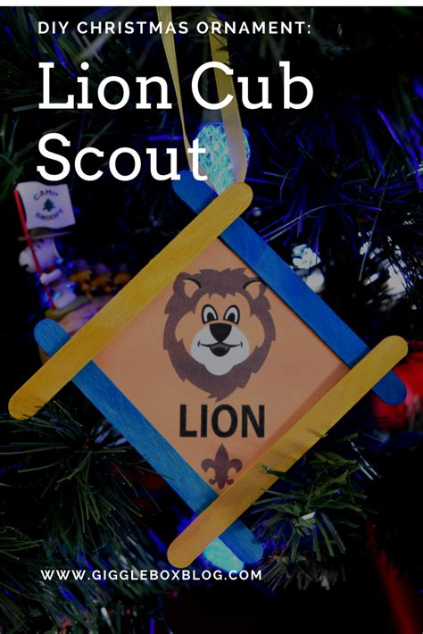 cub scout christmas crafts cub scout ornament gigglebox tells it like it is