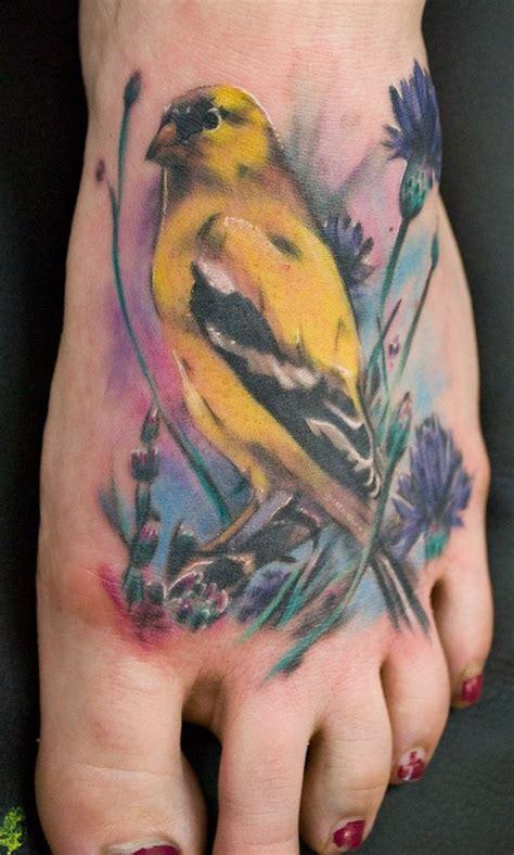 35 Bird Tattoos On Foot Bird Foot Ideas