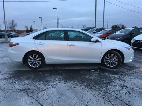 Toyota Camry Hybrid Used Cars For Sale 2017 Toyota Camry Hybrid Brton Ontario Used Car For