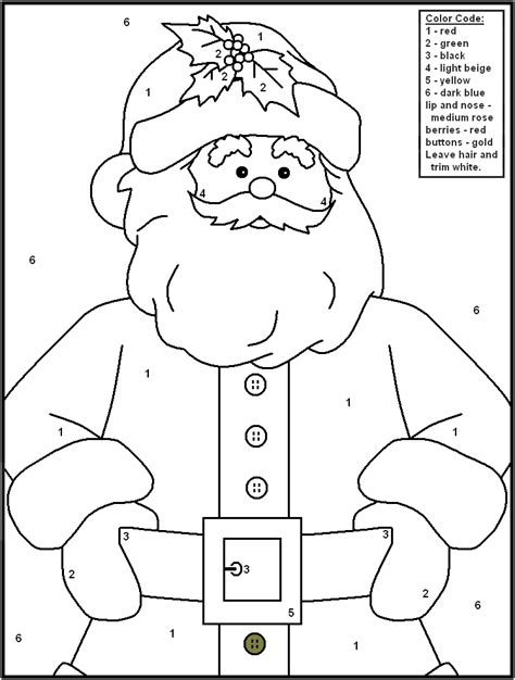 free holiday color by number coloring pages 6 christmas color by number printables