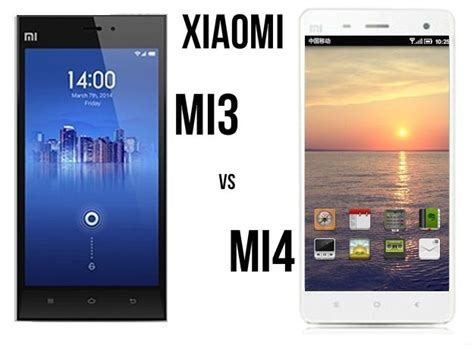 Front Kamera Depan Xiaomi Mi3 Mi 3 xiaomi mi3 vs xiaomi mi4 smartphone specs pricing comparison android advices